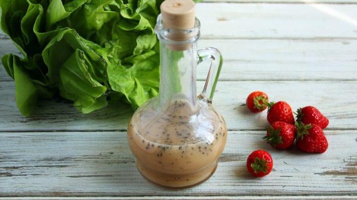 Healthy Strawberry Poppyseed Dressing   Real Food RN