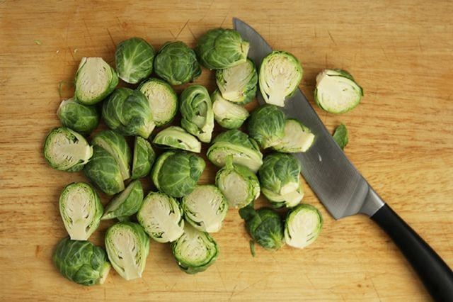 Cheesy Baked Brussels Sprouts | Real Food RN
