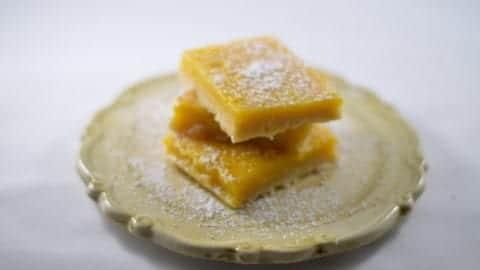 Delicious and Award-Winning Grain-Free Lemon Bars | Real Food RN