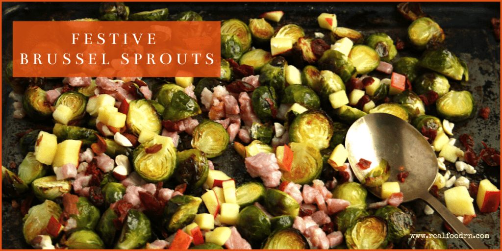 """""""Festive"""" Brussel Sprouts 
