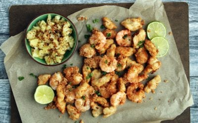 Gluten-Free Coconut Shrimp & Chicken