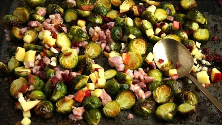 """""""Festive"""" Brussel Sprouts"""