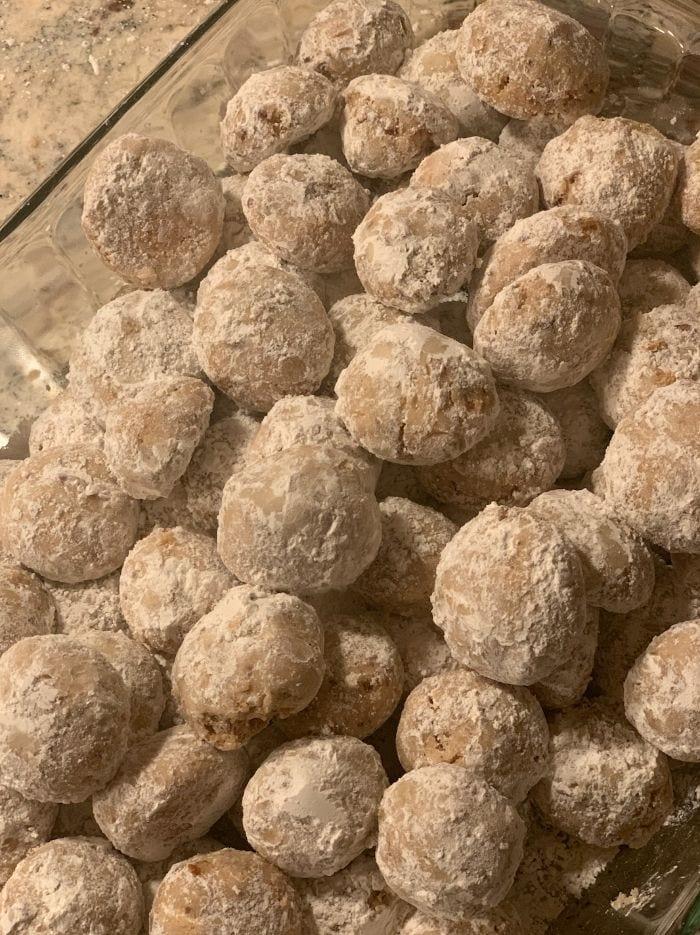 Grain-Free Pecan Snowballs | Real Food RN