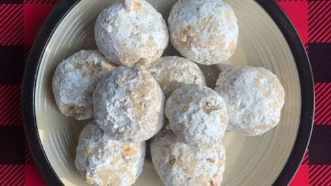 Grain-Free Pecan Snowballs | Real Food RN