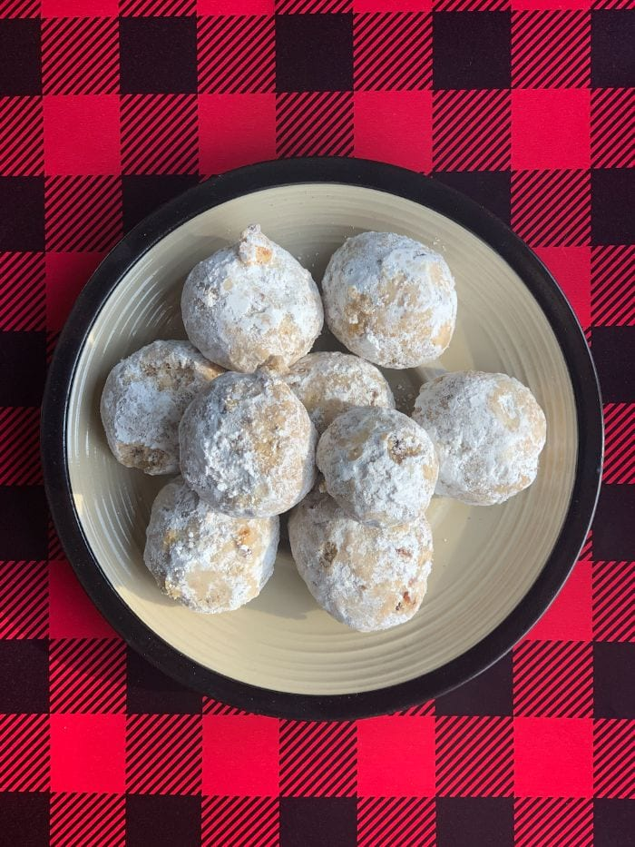 Grain-Free Pecan Snowballs   Real Food RN