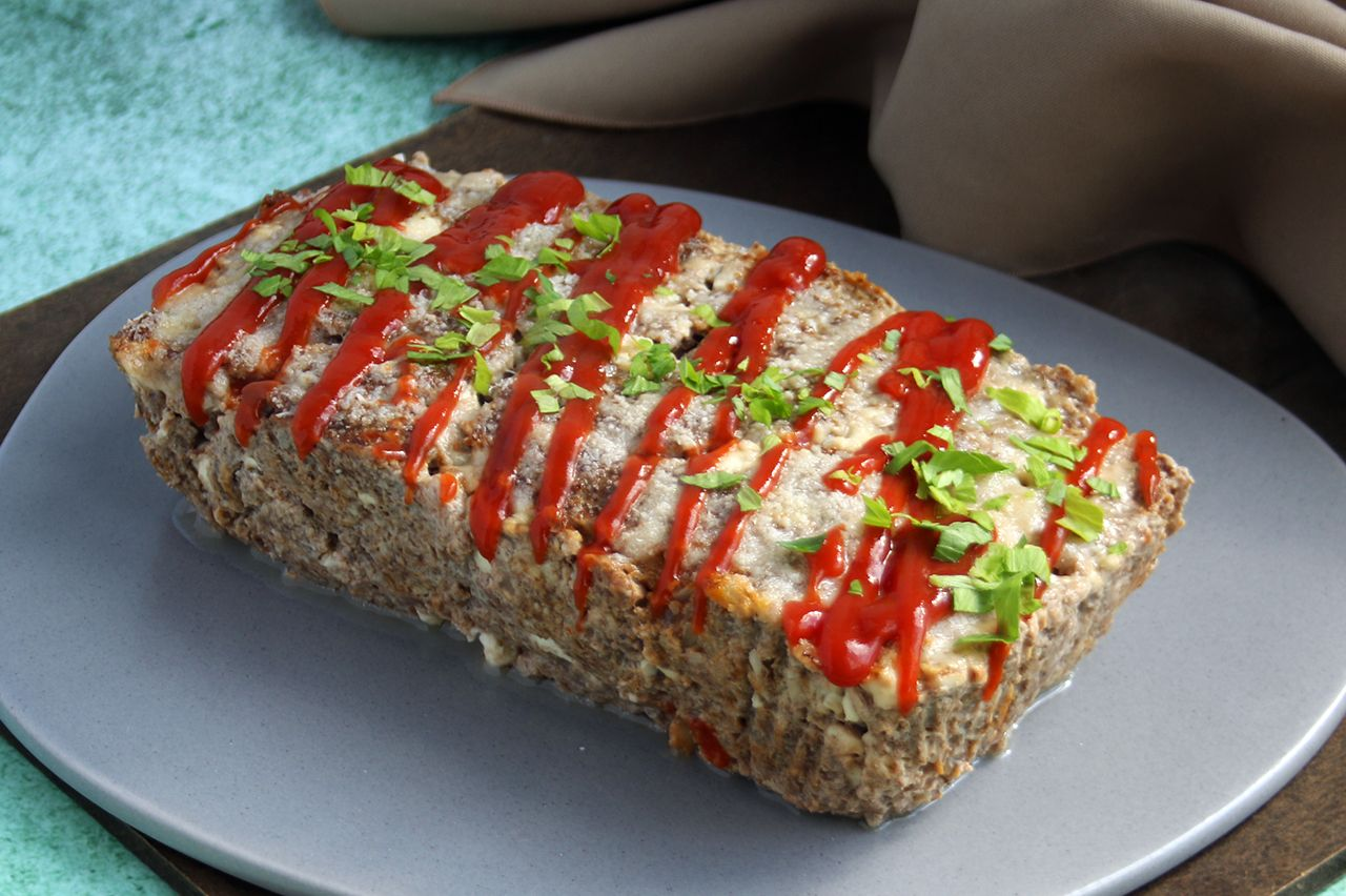 Easy Cheesy Meatloaf | Real Food RN
