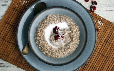 Grain & Nut-Free Keto N'Oatmeal