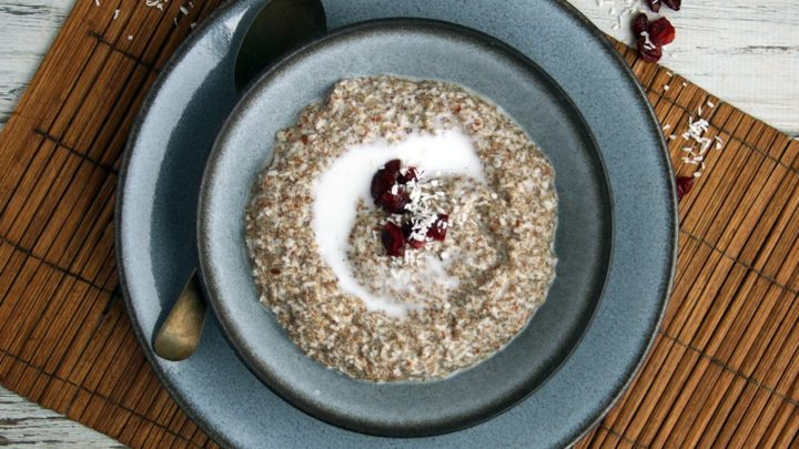 Grain & Nut-Free Keto N'Oatmeal | Real Food RN
