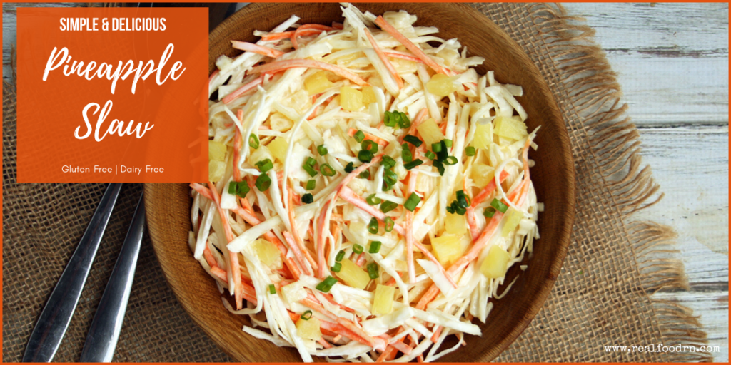 Pineapple Slaw | Real Food RN