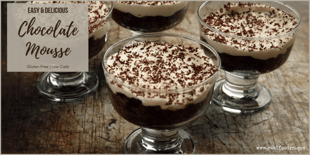 Easy Chocolate Mousse | Real Food RN