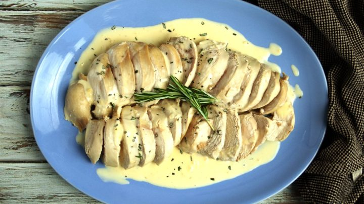 Chicken with Rosemary Butter Sauce | Real Food RN