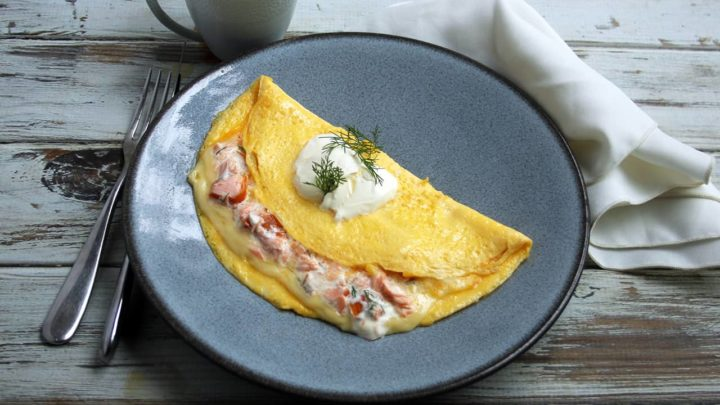 Easy Smoked Salmon Omelette | Real Food RN