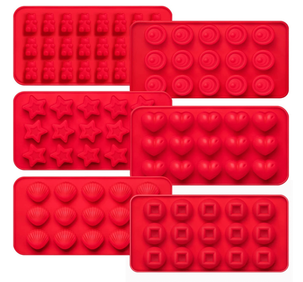 Variety candy or gummy molds