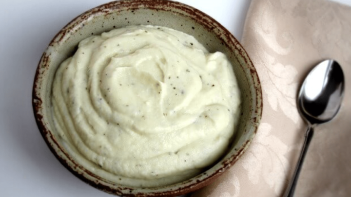 Creamy Cauliflower Fauxtatoes