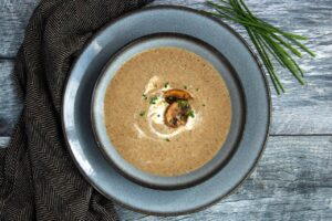 Healthy Cream of Mushroom Soup | Real Food RN