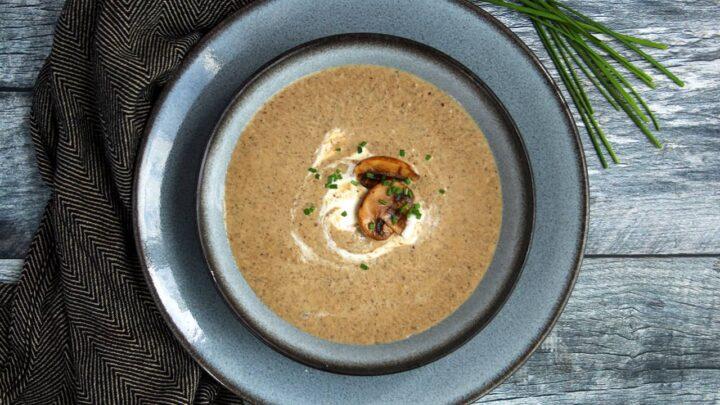 Healthy Cream of Mushroom Soup | Real Food RN