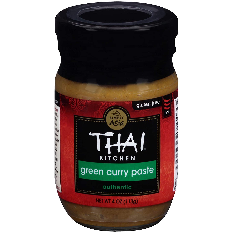 Gluten-Free Green Curry Paste
