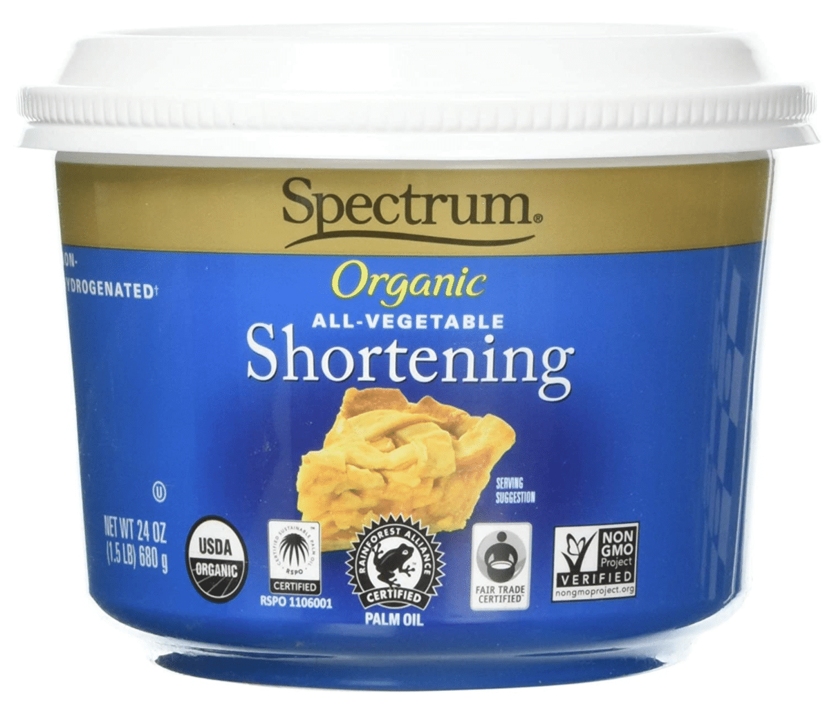 Organic All-Vegetable Shortening