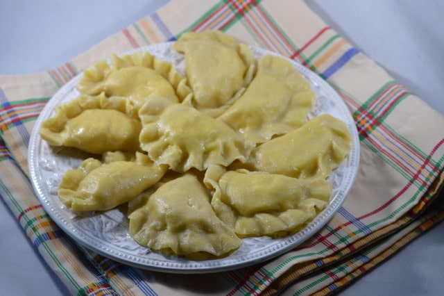 Old Fashioned Homemade Polish Potato Pierogies
