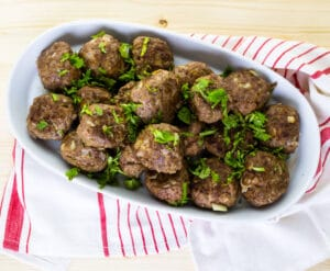 Grain-Free Baked Meatballs | Real Food RN