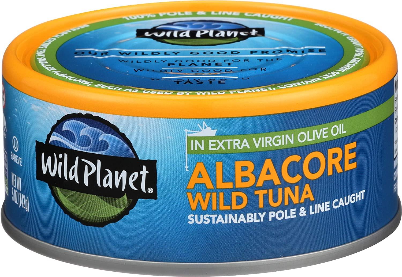 Albacore Wild-Caught Tuna
