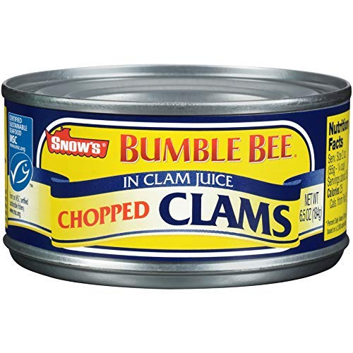 Chopped Clams with Juice