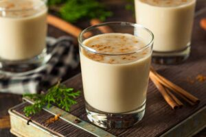 Homemade Creamy Eggnog | Real Food RN