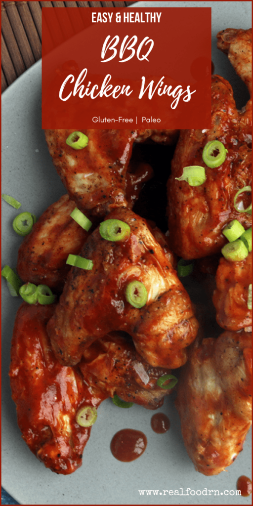 Easy & Healthy BBQ Chicken Wings | Real Food RN