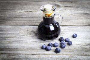 Easy Blueberry Lavender Simple Syrup | Real Food RN