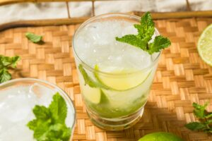 Digestif Mojito (a cocktail that aids digestion!) | Real Food RN