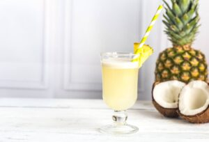 Dairy-Free Pineapple Coconut Margarita | Real Food RN