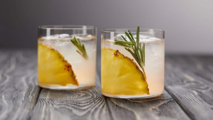 Pineapple Core Ice Cubes | Real Food RN