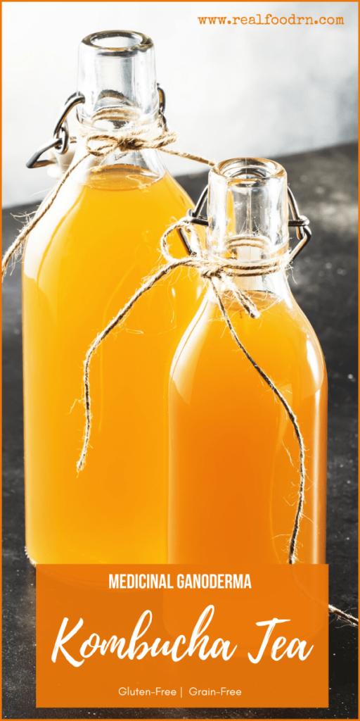 Medicinal Ganoderma Kombucha Tea | Real Food RN