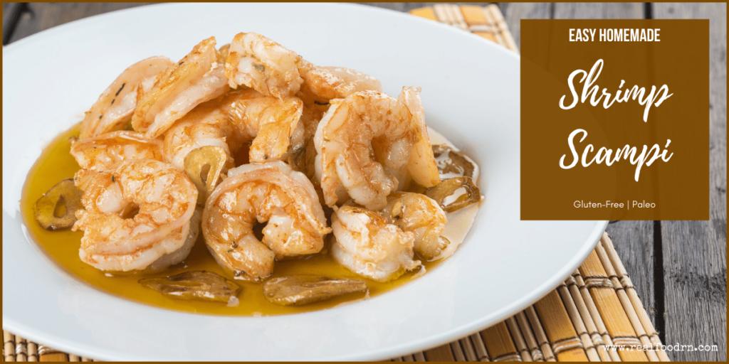 Easy Homemade Shrimp Scampi | Real Food RN