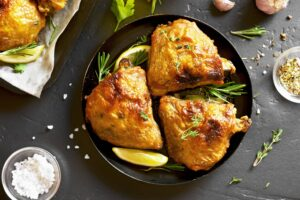 Rosemary Lemon Roast Chicken | Real Food RN