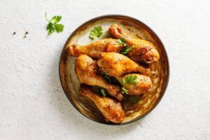 Quick and Easy Paleo Chicken Legs   Real Food RN