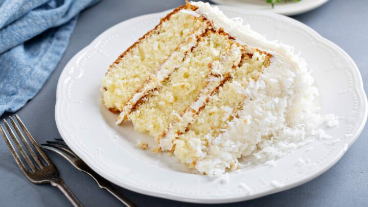 Delicious and Moist Grain-Free Yellow Cake | Real Food RN
