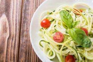 Creamy Garlic & Basil Zucchini Noodles   Real Food RN