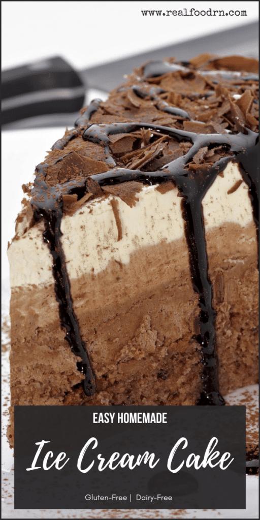 Easy Homemade Ice Cream Cake | Real Food RN