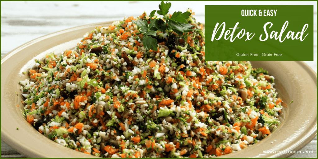 Detox Salad (Whole Foods Copycat Recipe) | Real Food RN