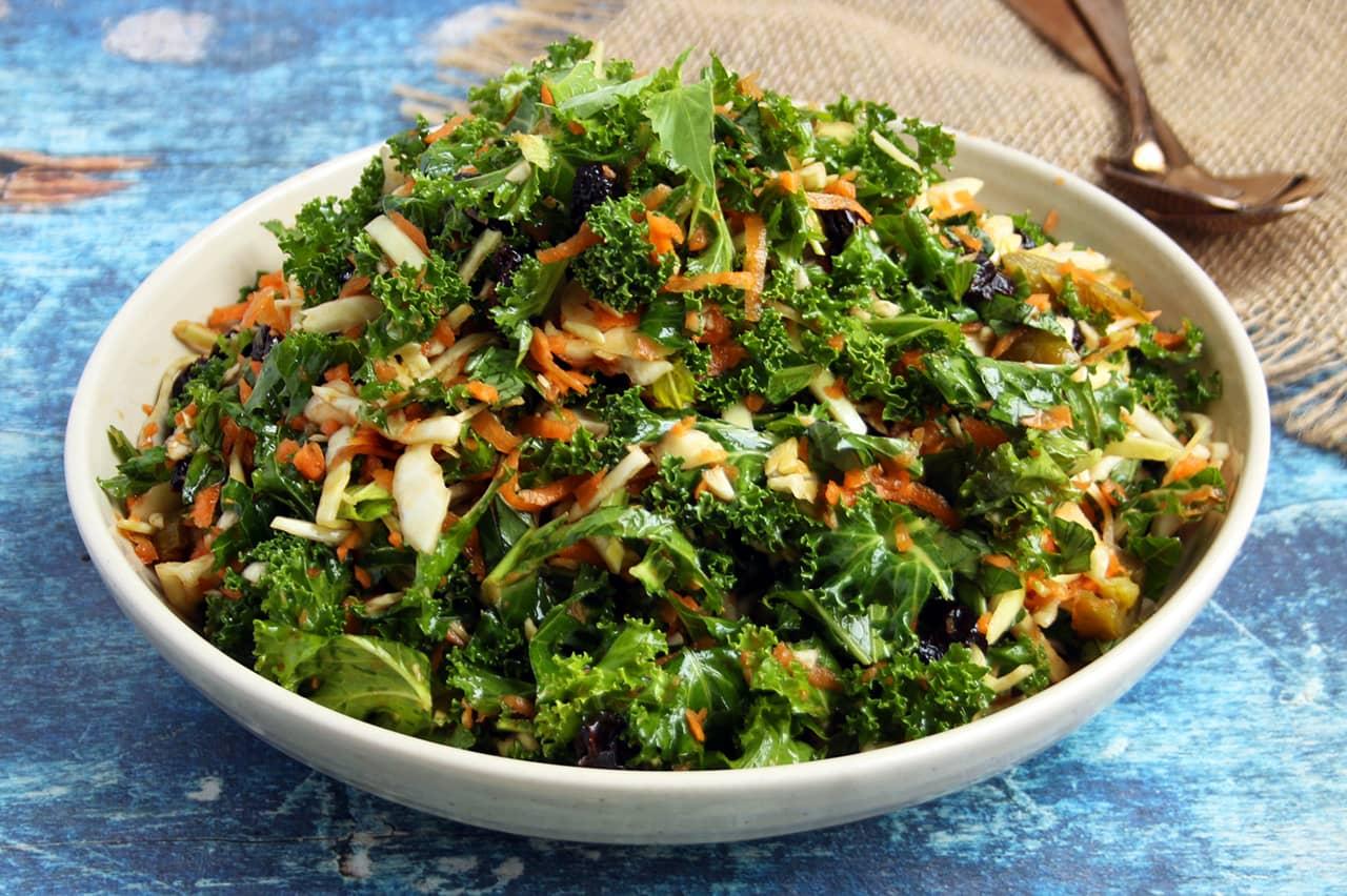 Massage Your Kale Salad | Real Food RN