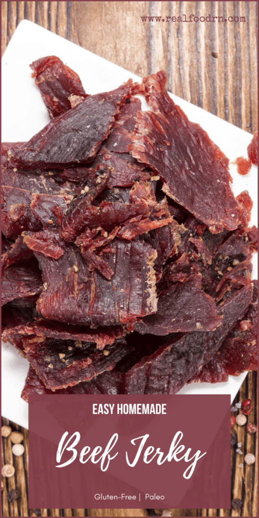 Easy Homemade Beef Jerky | Real Food RN