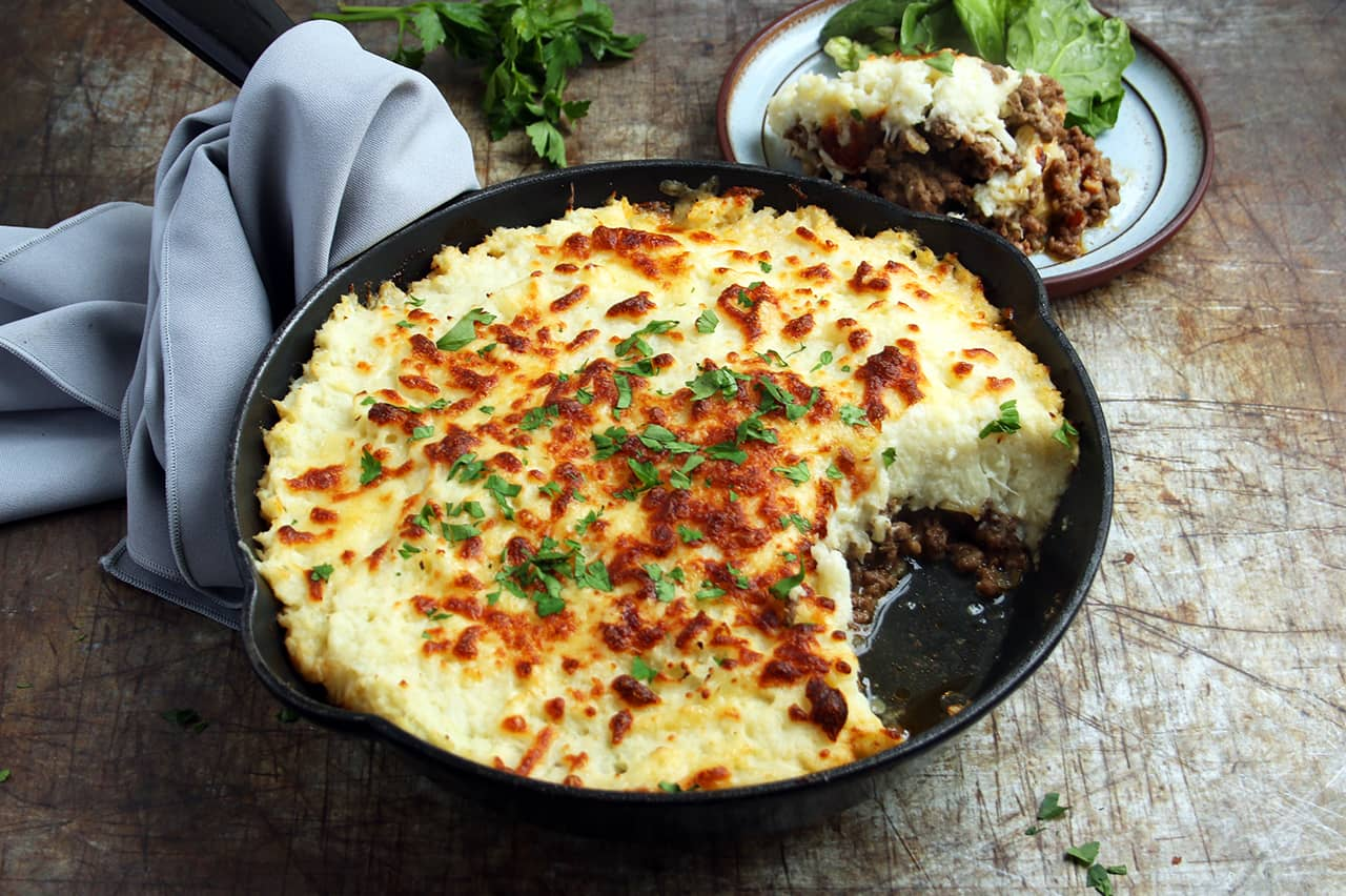 Hearty Skillet Shepherd's Pie | Real Food RN