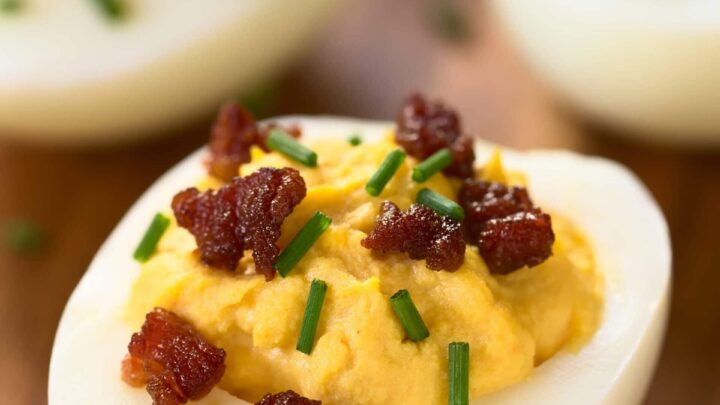 Family Favorite Recipe: Paleo Bacon Deviled Eggs | Real Food RN