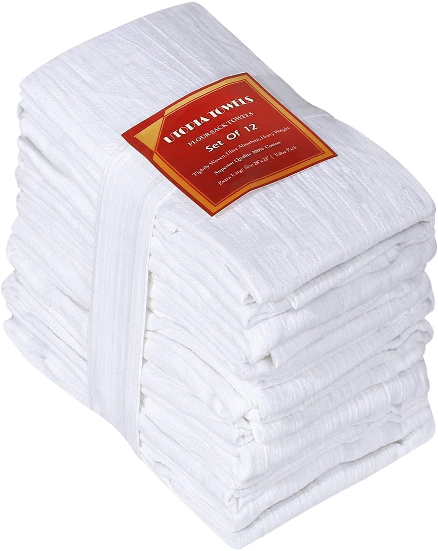 Cotton Flour Sack Dish Towels