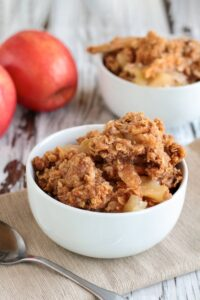 Skillet Apple Crumble {GAPS} | Real Food RN