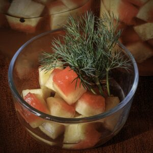 Fermented Watermelon Rind Pickles   Real Food RN