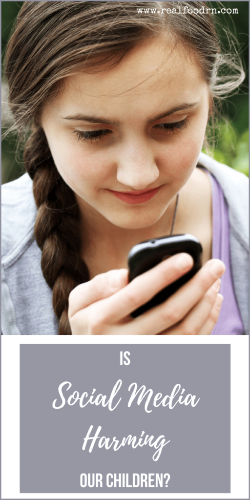 Is Social Media Harming Our Children? | Real Food RN