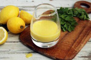 Easy 5-Ingredient Lemon Vinaigrette | Real Food RN