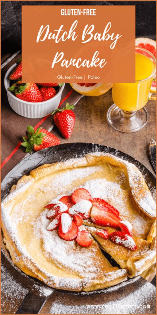 Gluten-Free Dutch Baby Pancake | Real Food RN